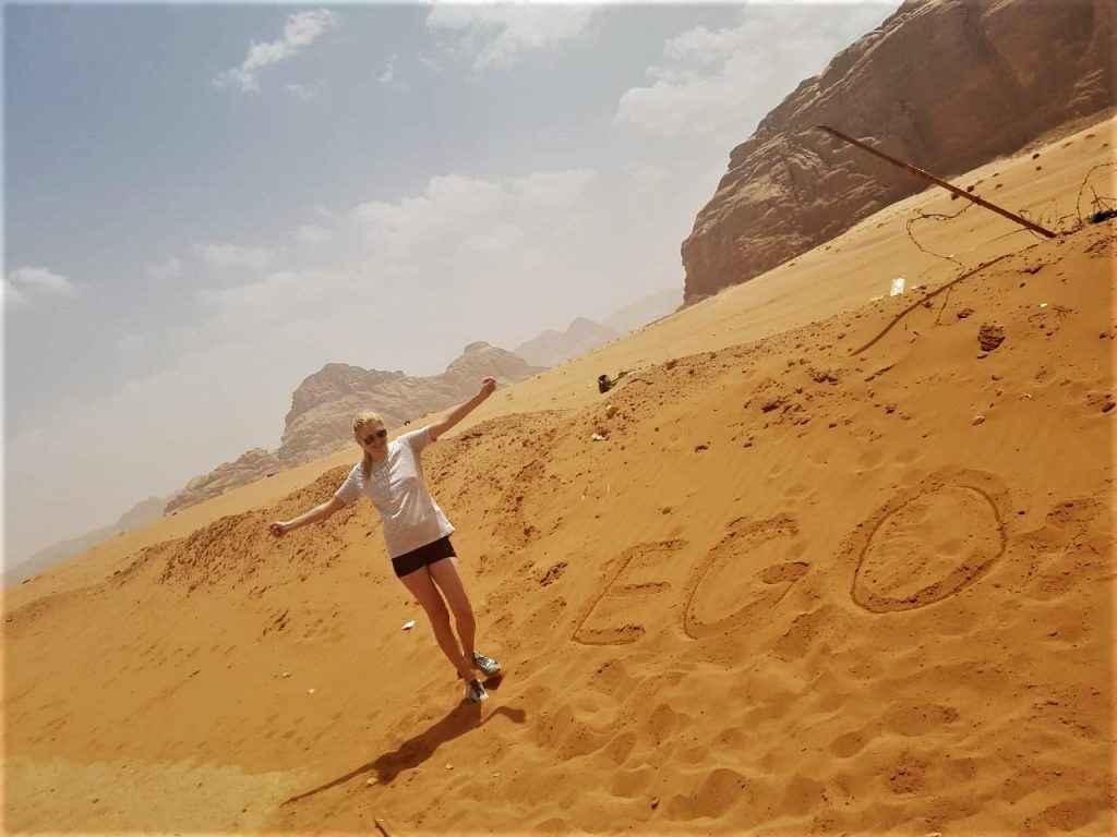 Фото-отзыв из Иордании от девушки хостес