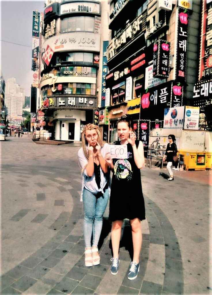 Фото отзыв из караоке Южной Кореи в Сеуле