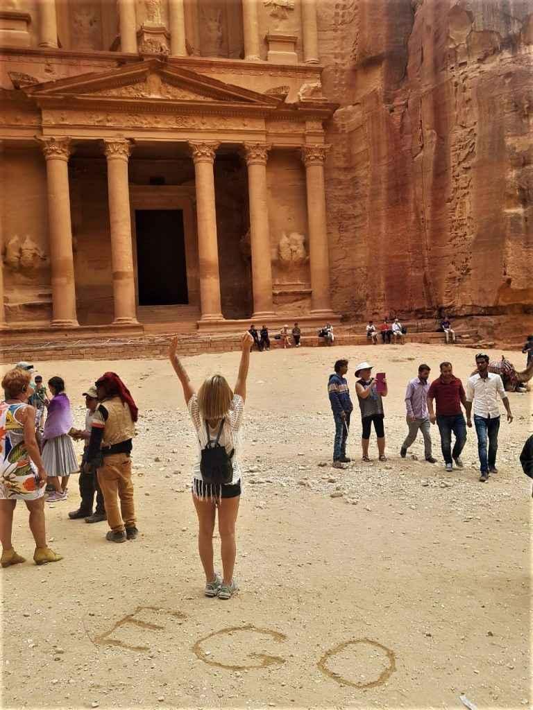Фото-отзыв хостес из Иордании