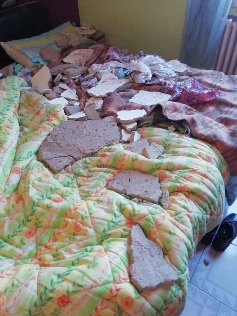 На данной фотографии девушка запечатлела аварийну ситуацию, которая случилась в апартаментах в Италии, в клубе