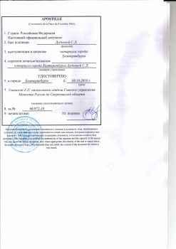 подлинность подписи - апа-стиль на рабочую визу в турцию пример документа